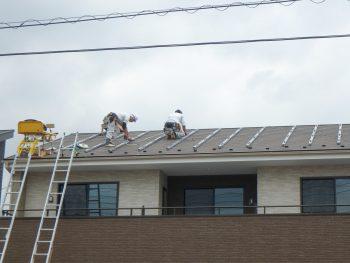 太陽光パネルの設置 ④