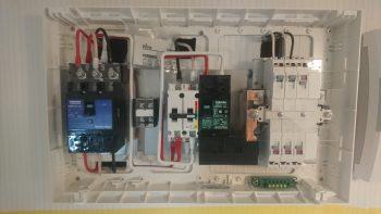 蓄電池設置工事 ④